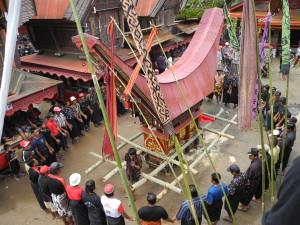 Toraja funeral rite