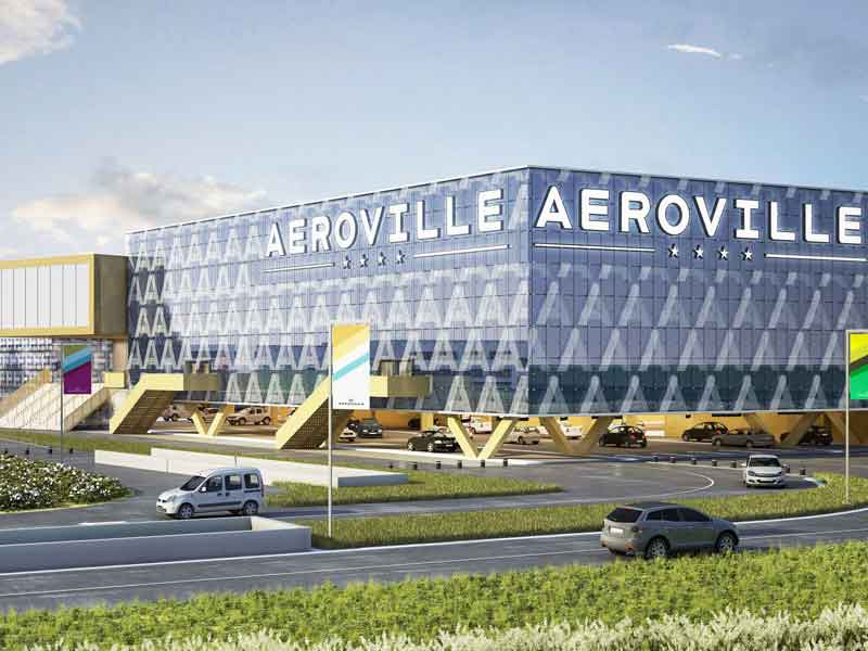 Aéroville - Mall - 110.000 m² - Paris - France