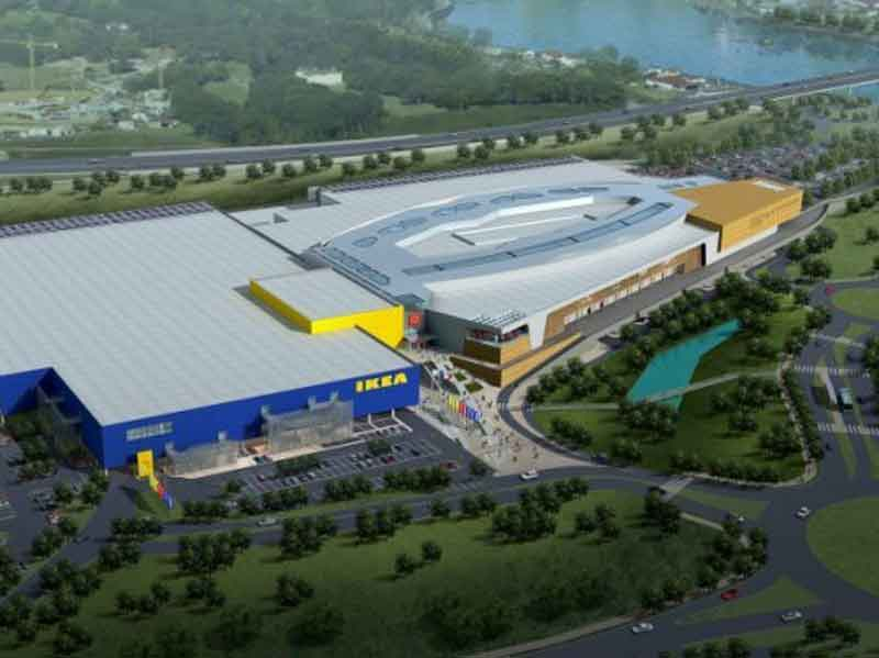 Inter Ikea - Mall - 60.000 m² - Bayonne - France